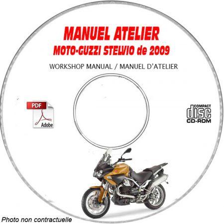 STELVIO 1200 NTX 09 Manuel Atelier CDROM MOTO-GUZZI