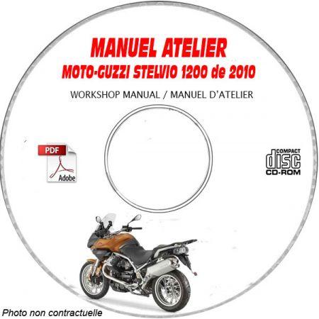 STELVIO 1200 4V 10 Manuel Atelier CDROM MOTO-GUZZI