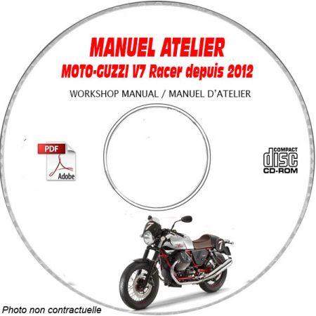 V7 RACER 12-13 Manuel Atelier MOTO-GUZZI CDROM