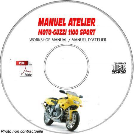 1100 SPORT -98 Manuel Atelier CDROM MOTO-GUZZI