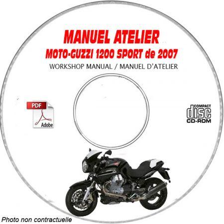 1200 SPORT 07 Manuel Atelier CDROM MOTOGUZZI