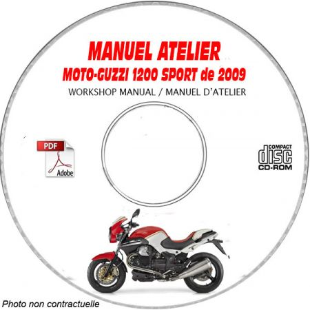 1200 SPORT 4V 09 Manuel Atelier CDROM MOTOGUZZI