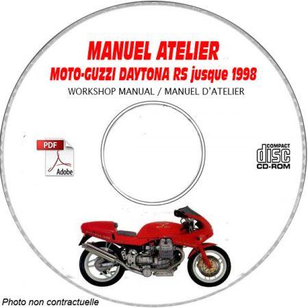 DAYTONA RS -98 Manuel Atelier CDROM MOTO-GUZZI