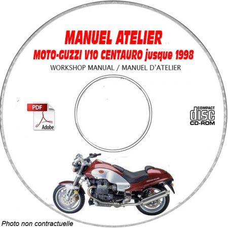 V10 CENTAURO -98 Manuel Atelier CDROM MOTO-GUZZI