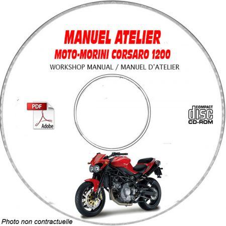 CORSARO 1200 -06 Manuel Atelier CDROM MORINI FR