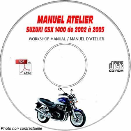 GSX 1400 02-05 Manuel Atelier CDROM SUZUKI Anglais