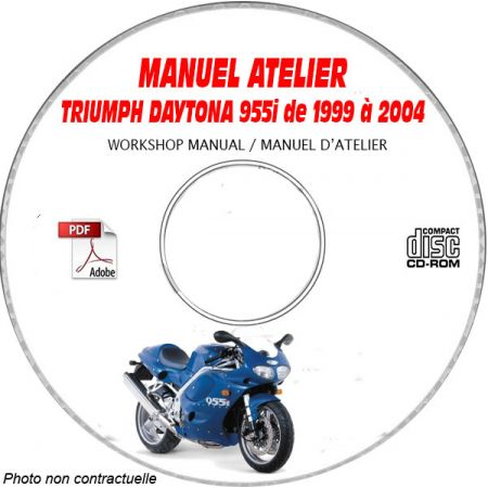 MANUEL D'ATELIER DAYTONA 955i 2002 +