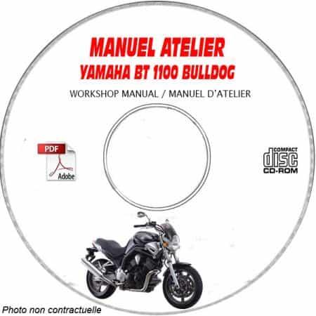 BT1100 BULLDOG -02 Manuel Atelier CDROM YAMAHA Anglais
