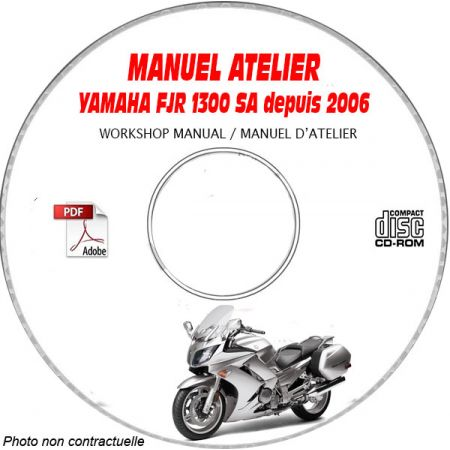 FJR 1300 Semi Auto 2006 Manuel Atelier CDROM YAMAHA