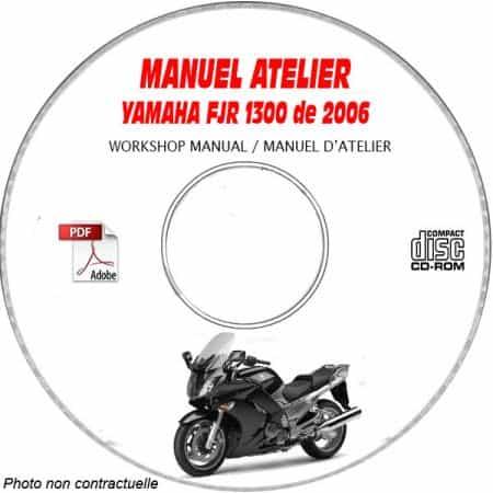 FJR 1300 2006 Manuel Atelier CDROM YAMAHA