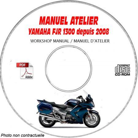 FJR 1300 2008 Manuel Atelier CDROM YAMAHA