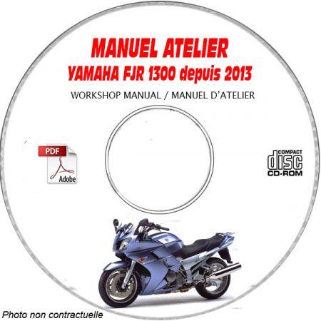 FJR 1300 2013 Manuel Atelier CDROM YAMAHA