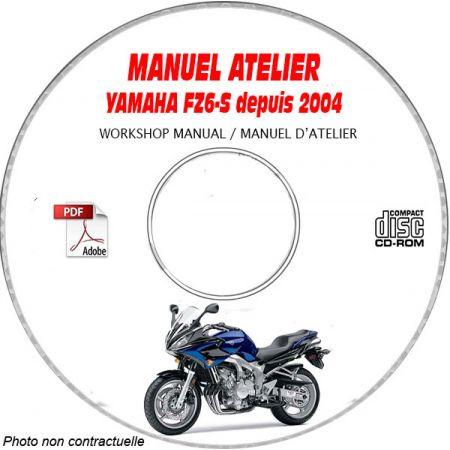 FZ6-S 2004 Manuel Atelier CDROM YAMAHA