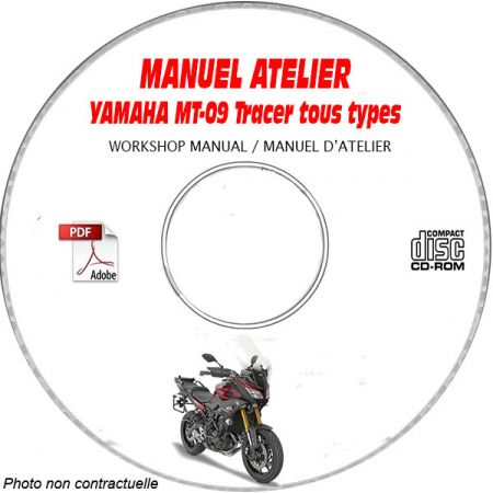 MT-09 Tracer 15- Manuel Atelier CDROM YAMAHA