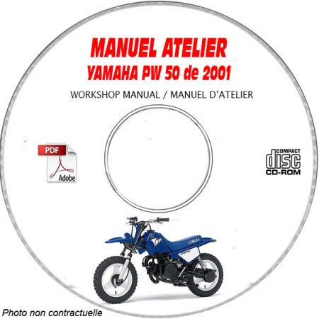 PW 50 2001 Manuel Atelier CDROM YAMAHA
