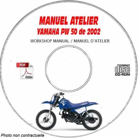 PW 50 2002 Manuel Atelier CDROM YAMAHA