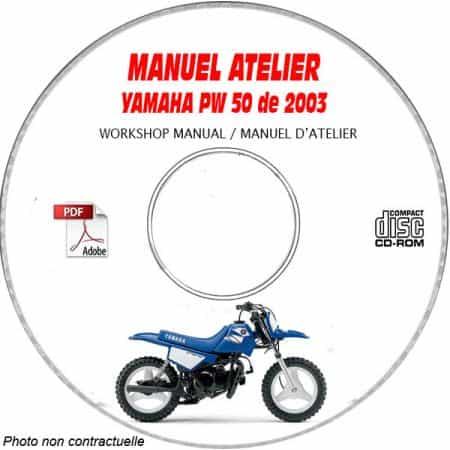 PW 50 2003 Manuel Atelier CDROM YAMAHA