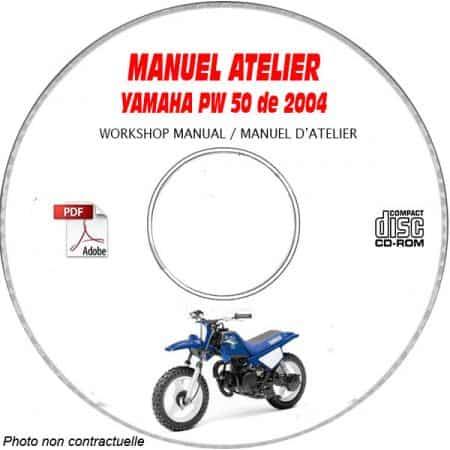 PW 50 2004 Manuel Atelier CDROM YAMAHA
