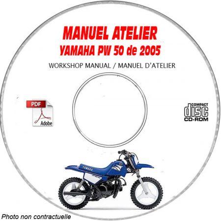 PW 50 2005 Manuel Atelier CDROM YAMAHA