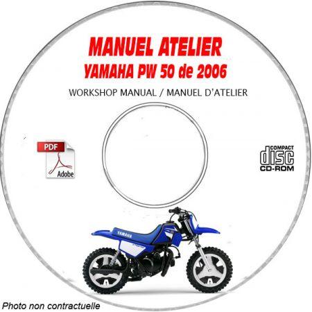 PW 50 2006 Manuel Atelier CDROM YAMAHA