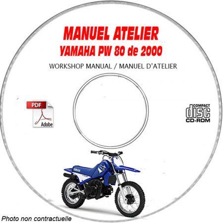 PW 80 2000 Manuel Atelier CDROM YAMAHA