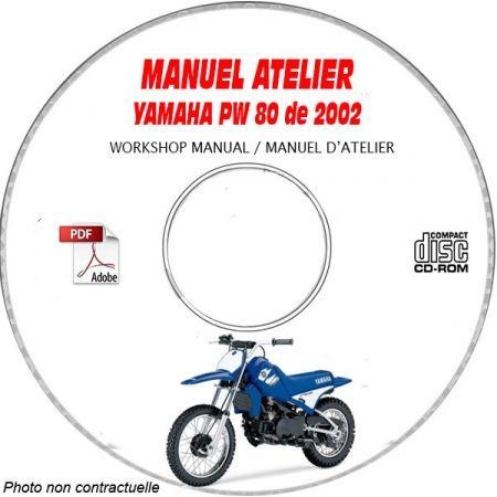 PW 80 2002 Manuel Atelier CDROM YAMAHA
