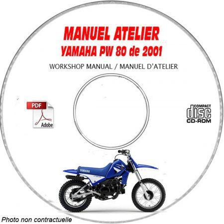 PW 80 2001 Manuel Atelier CDROM YAMAHA