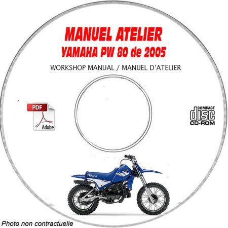 PW 80 2005 Manuel Atelier CDROM YAMAHA