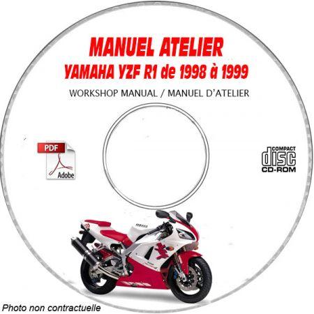 YZF R1 98-99 Manuel Atelier CDROM YAMAHA Anglais