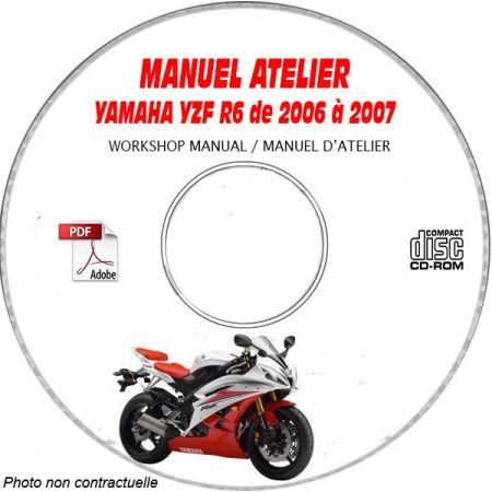 YZF R6 06-07 Manuel Atelier CDROM YAMAHA