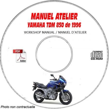 TDM 850 1996 Manuel Atelier CDROM YAMAHA