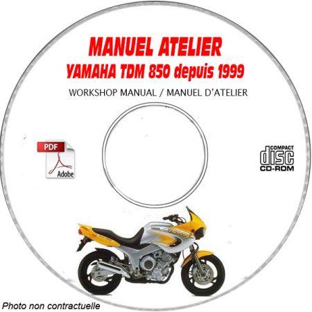 TDM 850 99- Manuel Atelier CDROM YAMAHA