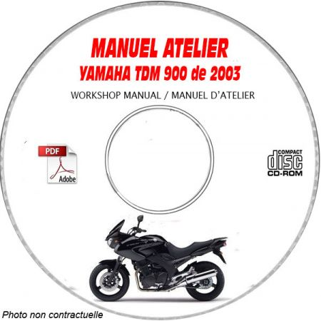 TDM 900 2003 Manuel Atelier CDROM YAMAHA