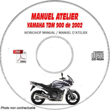 TDM 900 2002 Manuel Atelier CDROM YAMAHA