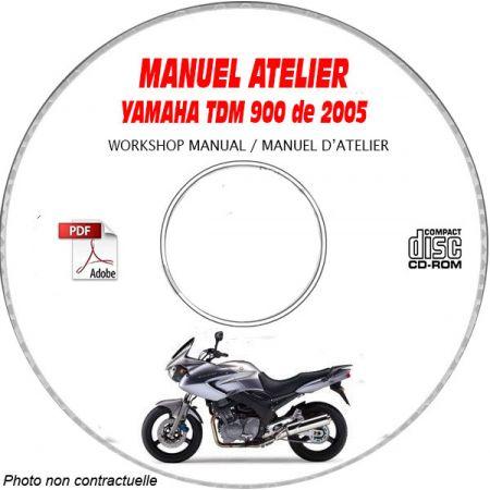 TDM 900 2005 Manuel Atelier CDROM YAMAHA
