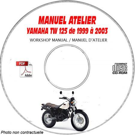 TW 125 99-03 Manuel Atelier CDROM YAMAHA FR