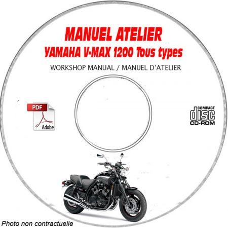 V-MAX 1200 -86 Manuel Atelier CDROM YAMAHA FR
