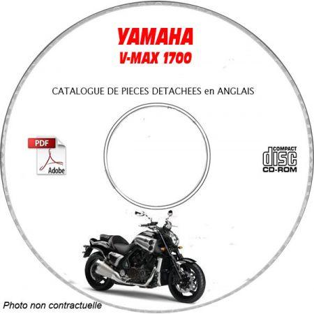 V-MAX 1700 Catalogue Pièces CDROM KAWASAKI Anglais