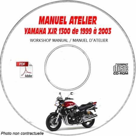 XJR 1300 99-02 Manuel Atelier CDROM YAMAHA FR