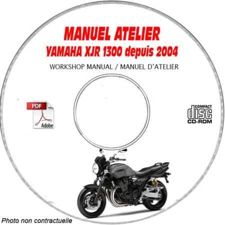XJR 1300 2004 Manuel Atelier CDROM YAMAHA FR