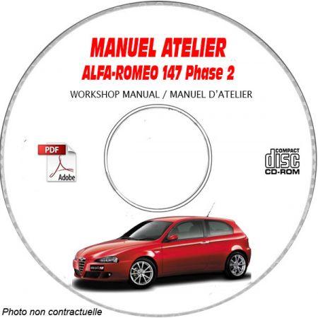 147 03- Manuel Atelier CDROM ALFA Revue technique