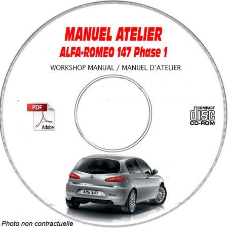 147 phase 1 Manuel Atelier CDROM ALFA FR