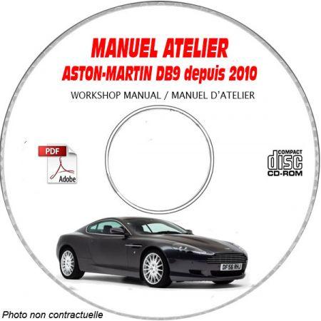 DB9 10 - Manuel Atelier CDROM ASTON Anglais