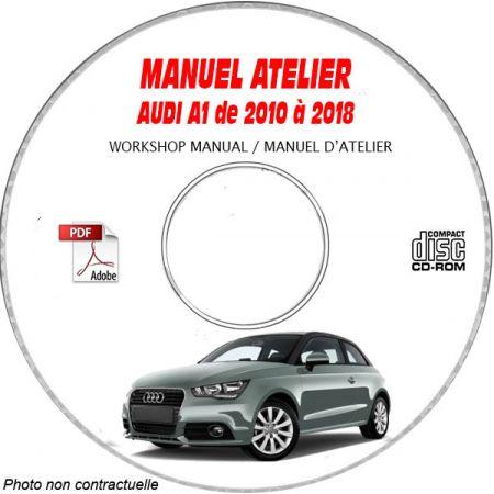 A1 10-18 - Manuel Atelier CDROM AUDI Anglais