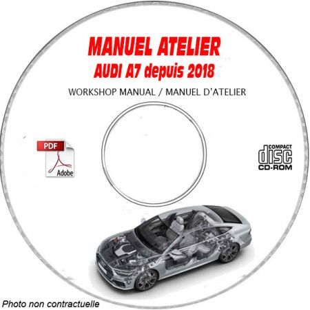 A7 18 - Manuel Atelier CDROM AUDI Anglais