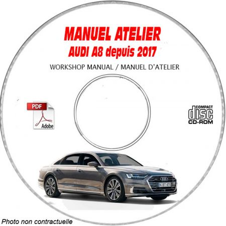 A8 17 - Manuel Atelier CDROM AUDI Anglais