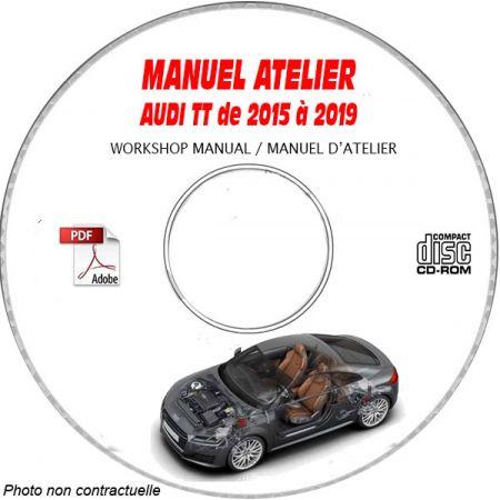 TT 15-19 - Manuel Atelier CDROM AUDI Anglais