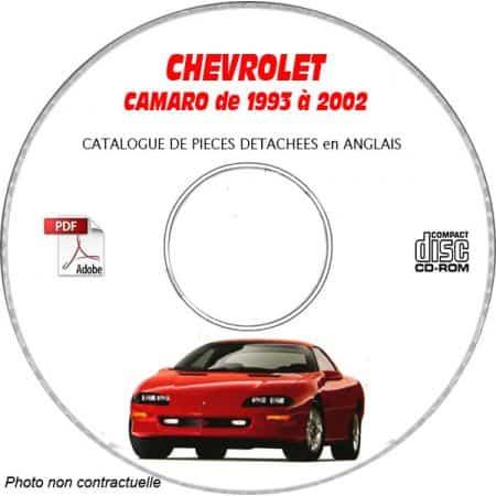 MANUEL E.P.C CAMARO 93-02