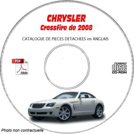 CHRYSLER CROSSFIRE 2008 Type : ZH Limited Catalogue des Pièces Détachées sur CD-ROM