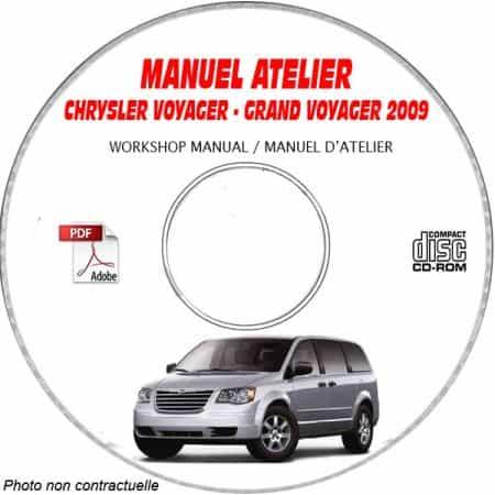 VOYAGER/CARAVAN 09 Manuel Atelier CDROM CHRYSLER Anglais